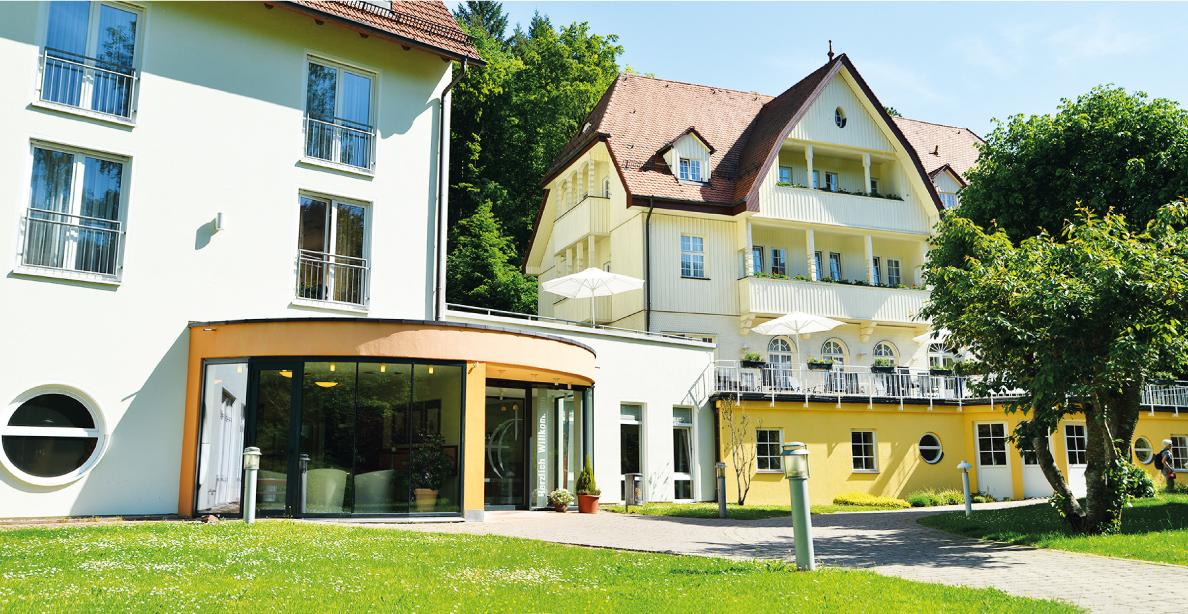 Hauptgebäude des Gästehaus Monbachtal